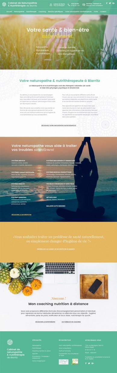 Cabinet de naturopathie de Biarritz